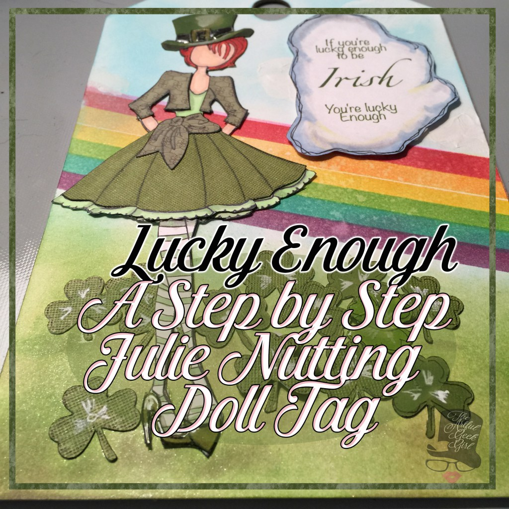 Julie Nutting Doll Tag Lucky Enough